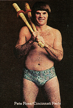 Pete Rose in horrible lizard underwear