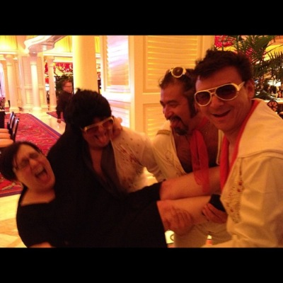 3 of the 4 Mexican Elvises