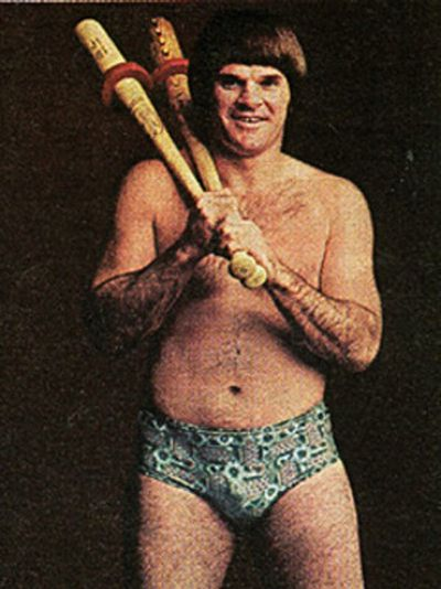 The Return of Pete Rose's skivvies
