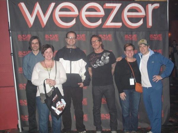 Amy Jane meeting Weezer