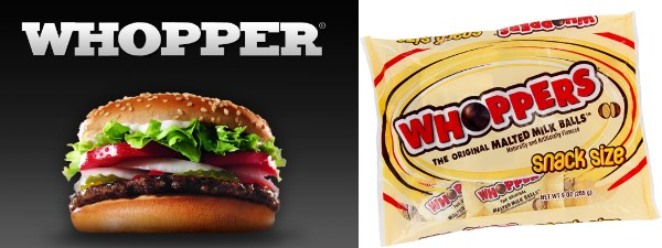 Whopper vs. Whoppers